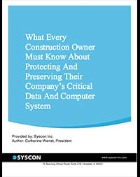 Cover free report What Every Construction Owner Must Know About